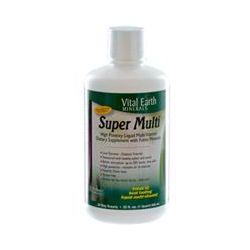 Vital Earth Minerals, Super Multi, Natural Passion Fruit Flavor, 32 fl oz (946 ml)