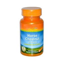 Thompson, Horse Chestnut, 400 mg, 60 Capsules