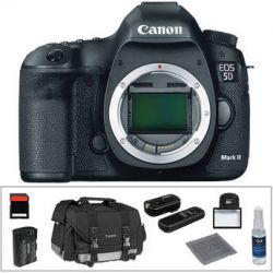 Canon EOS 5D Mark III DSLR Camera (Body Only) Basic Accessory