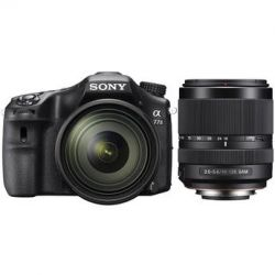 Sony Alpha a77II DSLR Camera with 16-50mm and 18-135mm Lenses