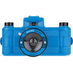 Lomography Sprocket Rocket 35mm Film Camera (Azure) 936 B&H