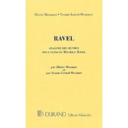 Analyses Des Oeuvres Pour Piano de Maurice Ravel by Maurice Ravel, 9780634080364.