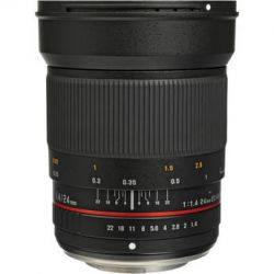 Rokinon 24mm f/1.4 Aspherical Wide Angle Lens for Olympus