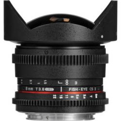 Samyang 8mm T3.8 UMC Fish-Eye CS II Lens SYHD8MV-C B&H Photo