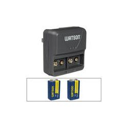 Watson 2-Bay 9V Charger & 2 9V Rechargeable Batteries Kit