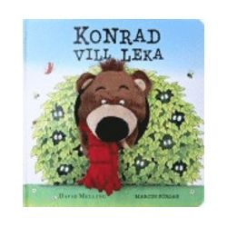 Konrad vill leka - David Melling - 9789179996093