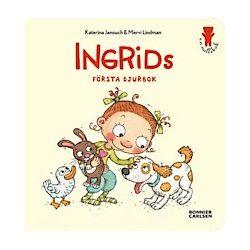 Ingrids första djurbok - Katerina Janouch - Bok (9789163877629)