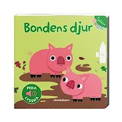 Nyfikna öron - Bondens djur - Peka - Lyssna - Marion Billet - Bok (9789129678765)