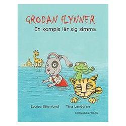 Grodan Flynner : en kompis lär sig simma - Louise Björnlund - Bok (9789197984539)