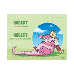 Hubert : den rosa krokodilen = Hubert : pembe timsah - Fredrik Bergdahl - Bok (9789186899660)