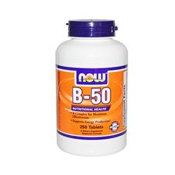 Now Foods, B-50, 250 Tablets