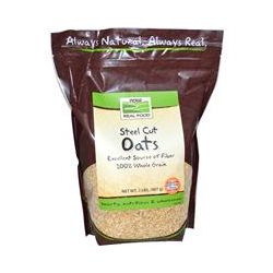 Now Foods, Real Food, Steel Cut Oats, 2 lbs (907 g)
