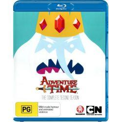 Adventure Time on DVD.