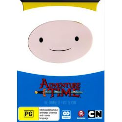 Adventure Time on DVD.