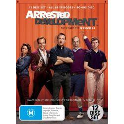 Arrested Development on DVD.