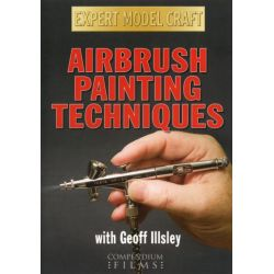 Airbrush Painting Techniques with Geoff Illsley (Expert Model Craft) on DVD.