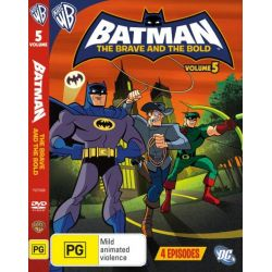 Batman the Brave and the Bold on DVD.