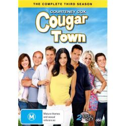 Cougar Town on DVD.