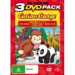 Curious George on DVD.