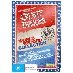 Crusty World First Collection (Night Of Records, Crusty 1, Crusty V6, Crusty 16) on DVD.