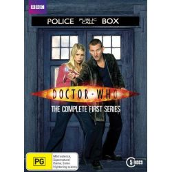Doctor Who on DVD.
