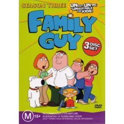 Family Guy on DVD.