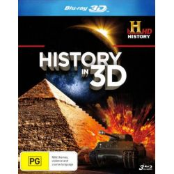 History in 3D (3 Discs) on DVD.