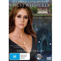 Ghost Whisperer on DVD.
