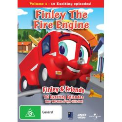 Finley The Fire Engine on DVD.