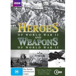 Heroes and Weapons of World War II (8 Discs, BBC) on DVD.