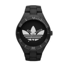 Adidas Adidas ADH2643 Melbourne Uhr schwarz, Adidas Logo silber