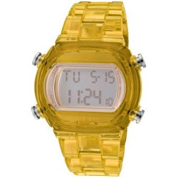 ADIDAS YELLOW CANDY DIGITAL WOMEN'S PLASTIC CASE CHRONOGRAPH DATE UHR ADH6505