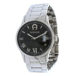 Aigner Herren Armbanduhr Silber A32752