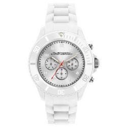 Alienwork Chronosmart Quarzuhr Armbanduhr Multi-funktion Uhr Silikon weiss weiss U0577-01