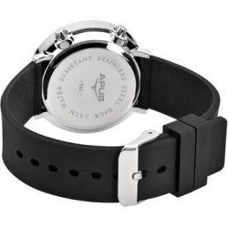 APUS Tau Silver Red AS-Tau-SlBlRd LED Uhr Sehr leicht