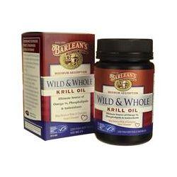 Barlean's, Krill Oil, Wild & Whole, 500 mg, 120 Fish Softgels