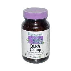 Bluebonnet Nutrition, DLPA, 500 mg, 60 Vcaps