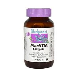Bluebonnet Nutrition, Multi-Vita Softgels, 120 Softgels