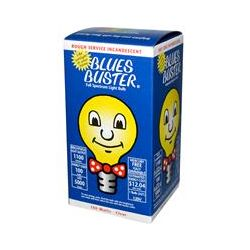 Blues Buster, Full Spectrum Light Bulb, Clear, 100 Watts, 1 Bulb