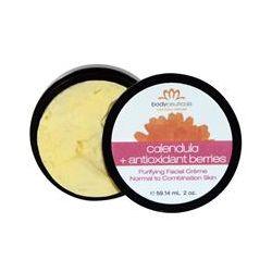 Bodyceuticals Calendula Skincare, Purifying Facial Cream, Calendula + Antioxidant Berries, 2 oz (59.14 ml)
