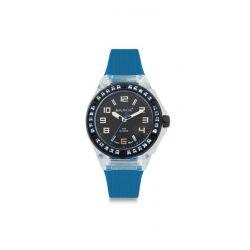 Avalanche Watch Damen-Armbanduhr Sunrise Analog Silikon blau AV-104S-CLBU