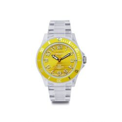 Avalanche Watch Unisex-Armbanduhr Analog Plastik gelb AV-101P-CLYW-40