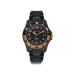 Avalanche Watch Unisex-Armbanduhr Analog Plastik schwarz AV-101P-BKRG-40