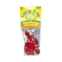 Candy Tree, Organic Cherry Lollipops, 2.4 oz (70 g)