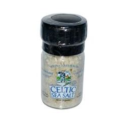 Celtic Sea Salt, Mini Salt Grinder, with Light Grey Celtic, 1.8 oz (51 g)