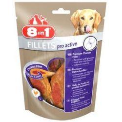 8in1 Fillets Pro Active L - przekąska na stawy 80g
