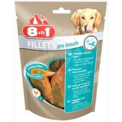 8in1 Fillets Pro Breath L - przekąska na świeży oddech 80g