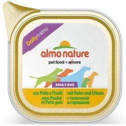 Almo Nature Daily Menu Pies - Kurczak i froszek tacka 100g [221]