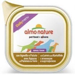 Almo Nature Daily Menu Pies - Jagnięcina i ziemniaki tacka 100g [220]