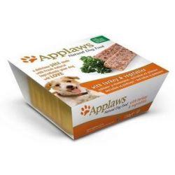 Applaws Pasztet dla psa - indyk i warzywa tacka 150g